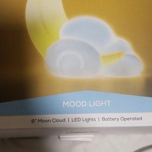 West & Arrow Moon Cloud Mood Battery LED Light